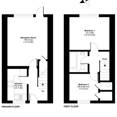 Floorplan for 5 The Talbotts, Broadmayne