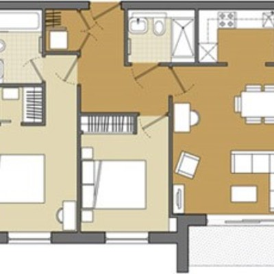 Floorplan for 15 Fairfield, Brewery Square
