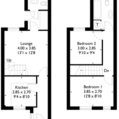 Floorplan for 59a Olga Road