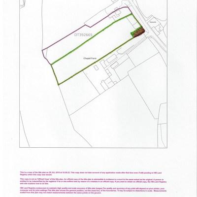 Floorplan for Keepers Paddock, Middlemarsh