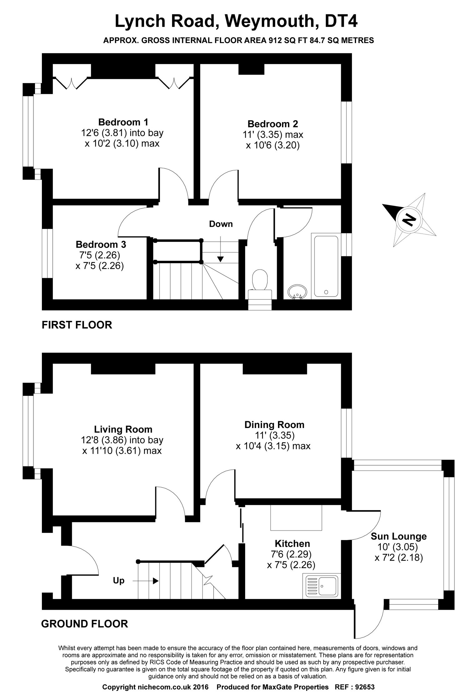 Floorplan for 21 Lynch Road