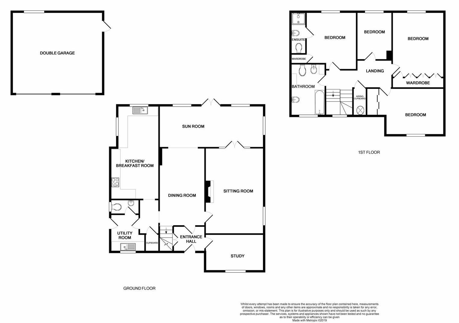 Floorplan for Little Newbold