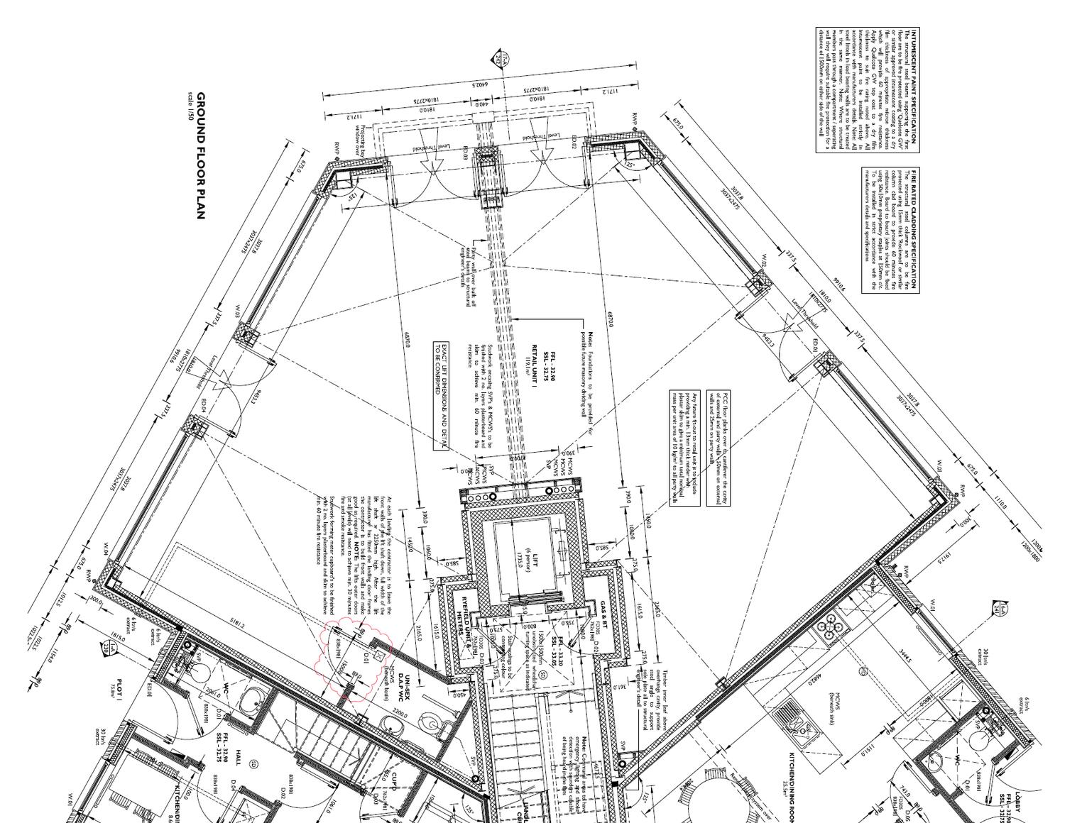 Floorplan for 21 and 23 Summer House Terrace, Yeovil