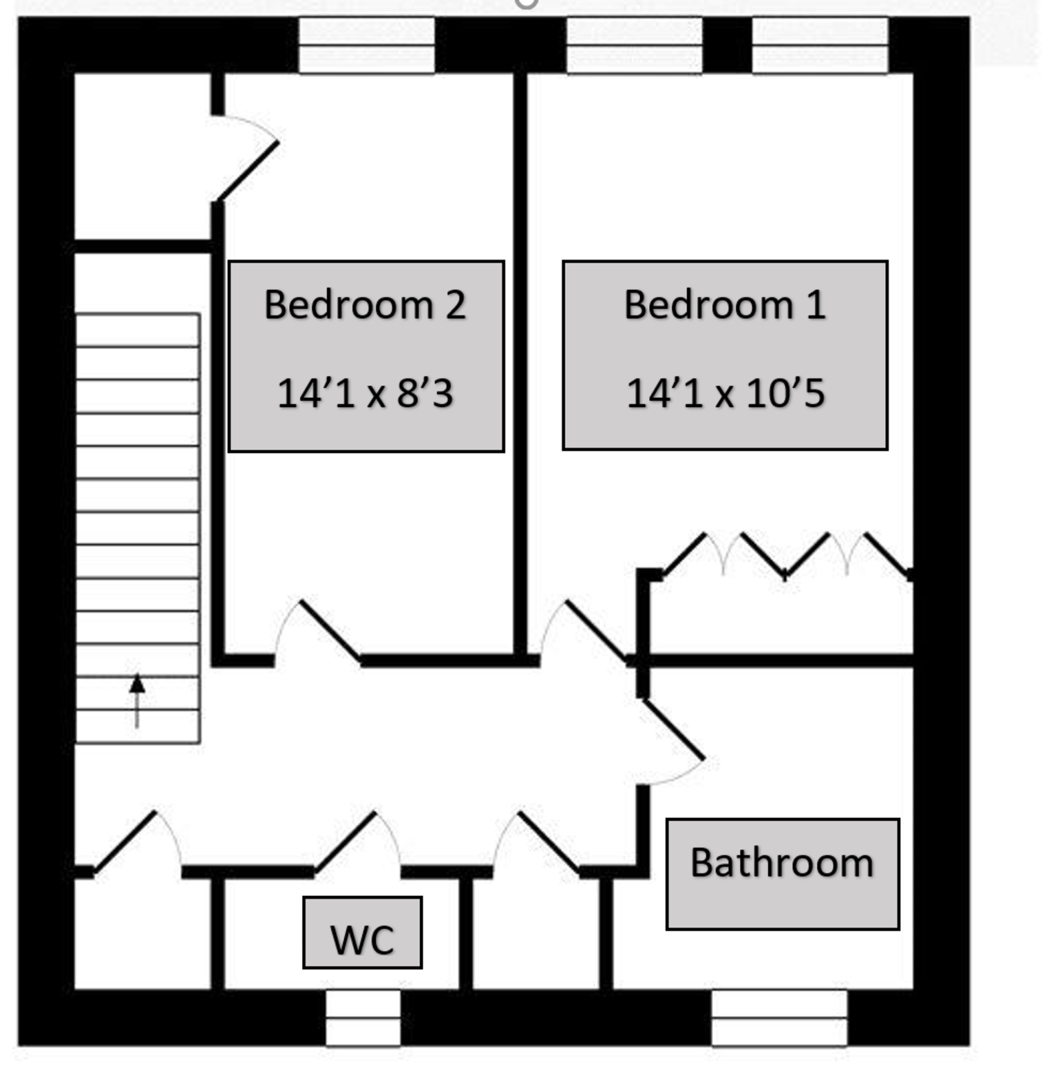 Floorplan for 52 Homechester House