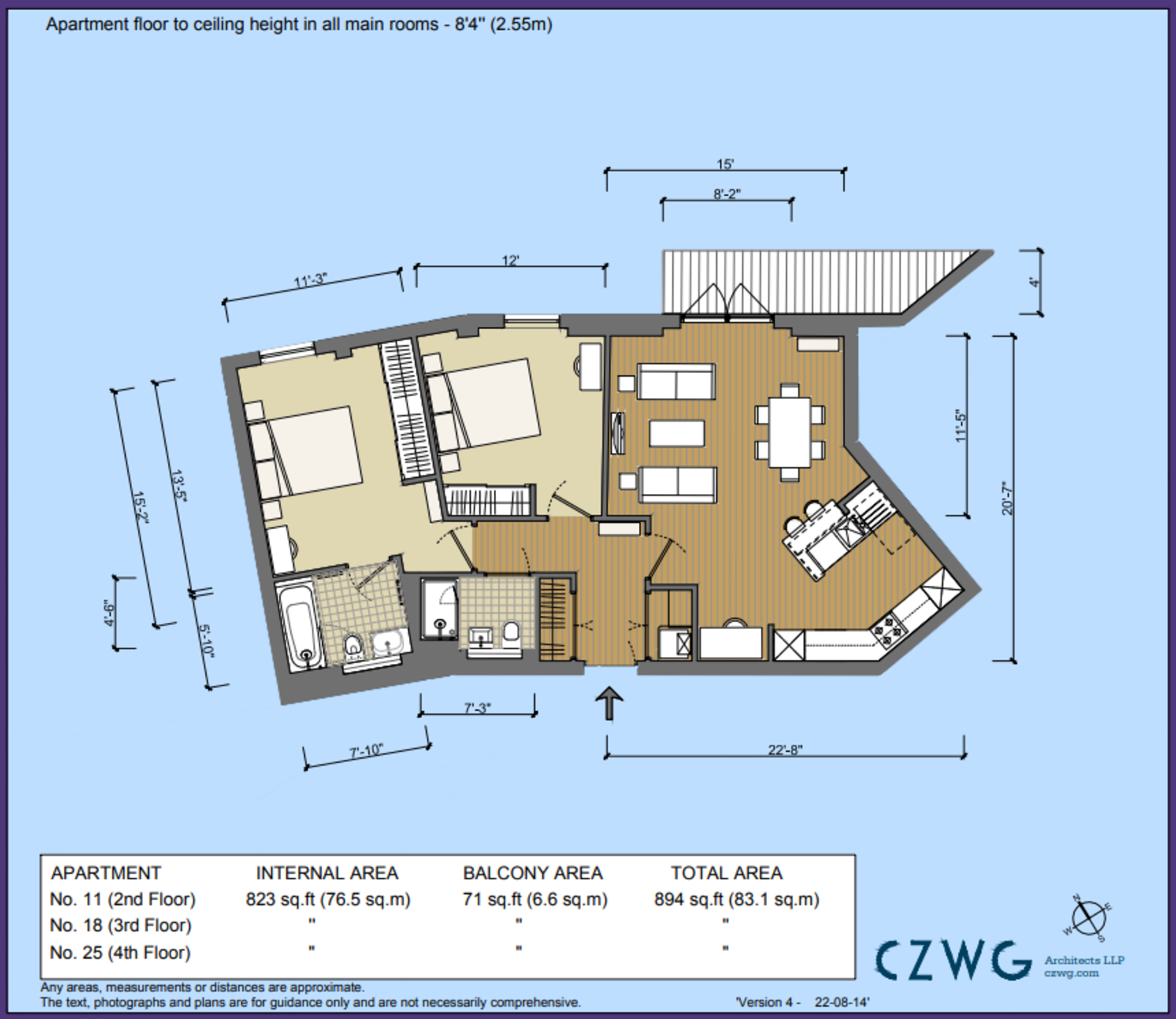 Floorplan for 18 Copper Crescent