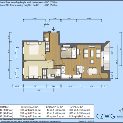 Floorplan for 15 Barley Buildings, Brewery Square