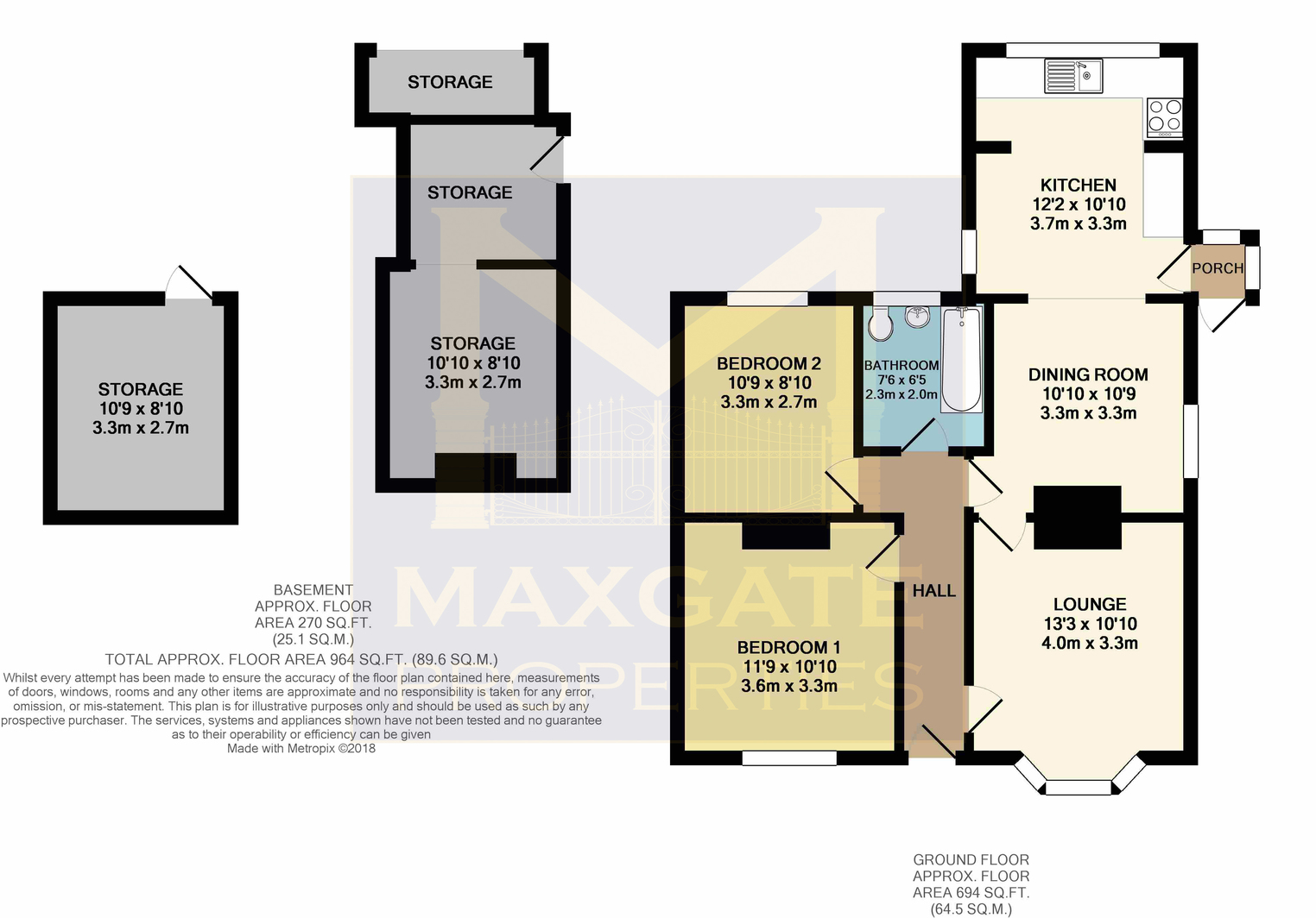 Floorplan for 22 Weyview Crecent