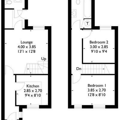 Floorplan for 59b Olga Road