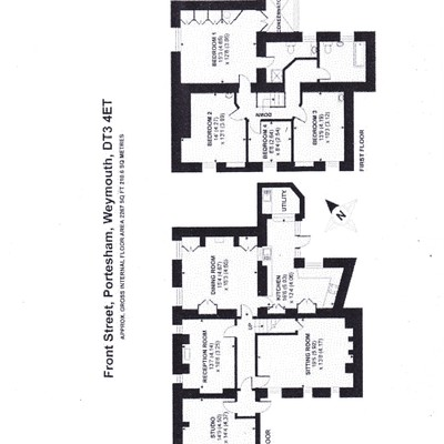 Floorplan for 36a Front Street, Portesham
