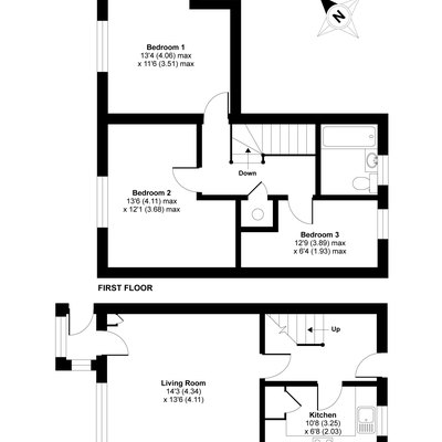 Floorplan for 4 Charlmont Cross