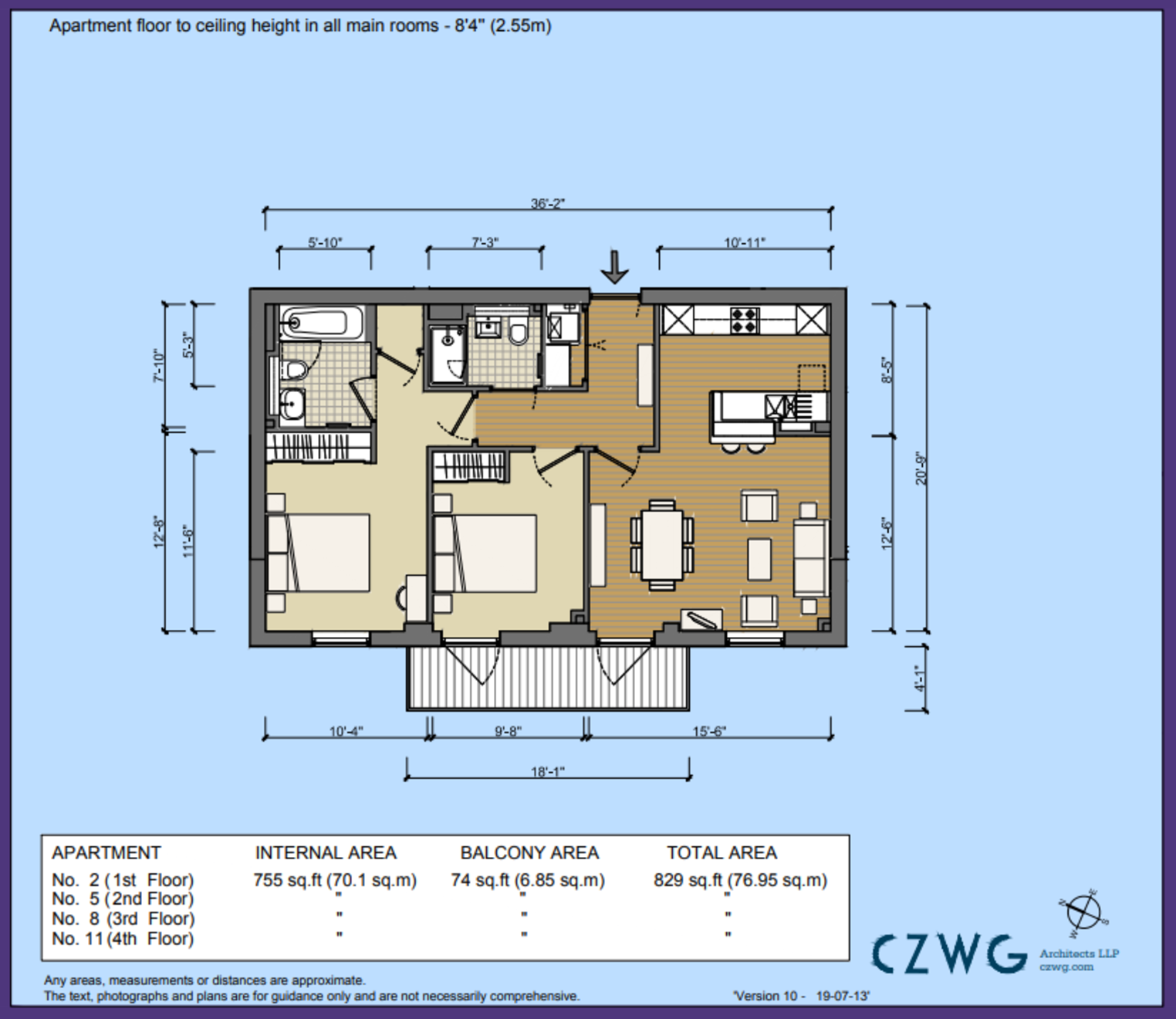 Floorplan for 8 The Keg Store, Brewery Square