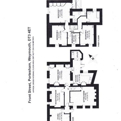 Floorplan for 36b Front Street, Portesham
