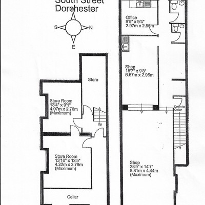 Floorplan for 4 South Terrace
