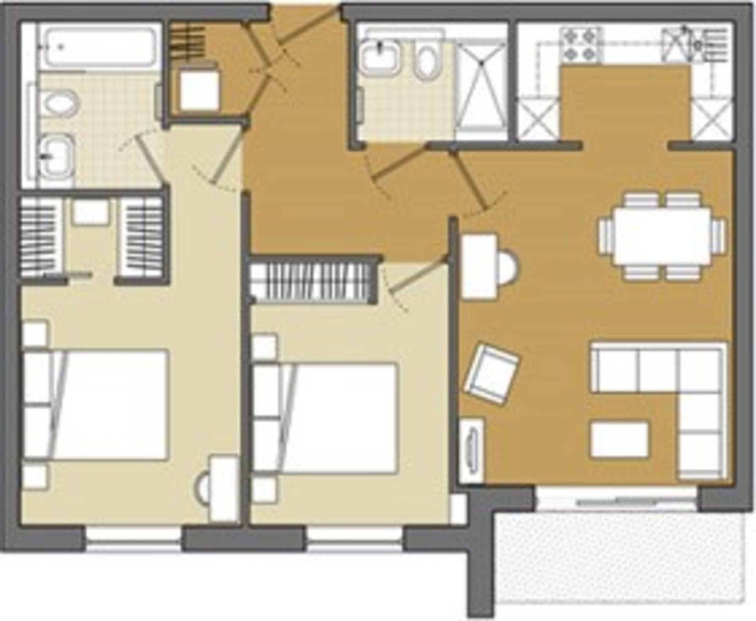 Floorplan for 6 Fairfield, Brewery Square